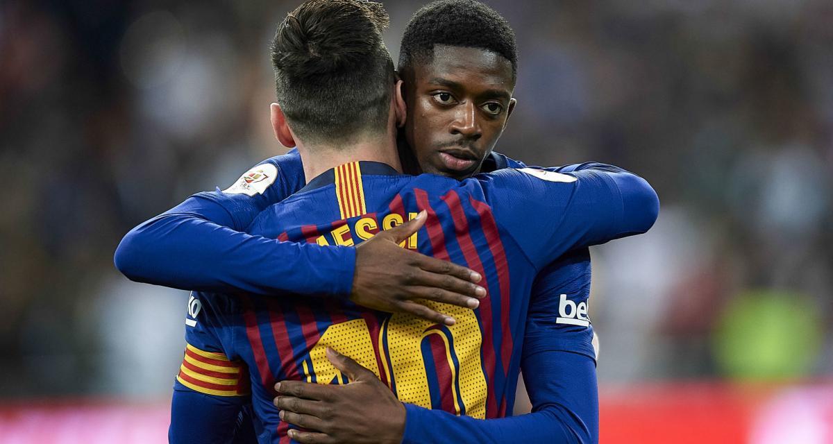 FC Barcelone – Mercato: Dembélé entre Messi, Neymar et Cristiano Ronaldo?