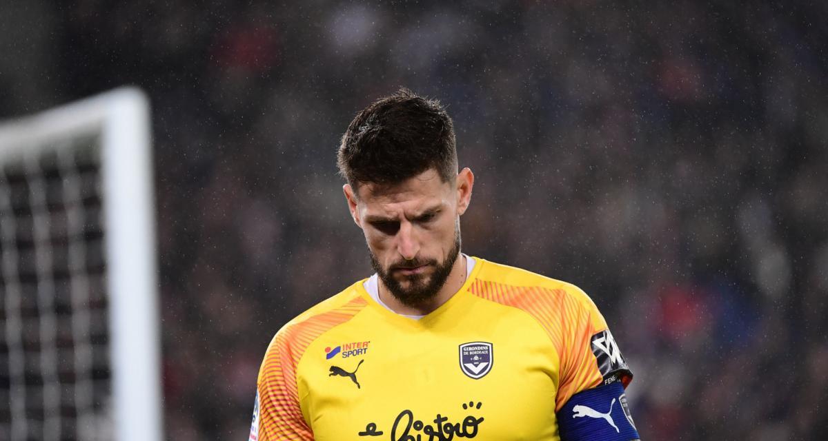 Girondins : Benoît Costil n'a pas envie de reprendre à huis clos