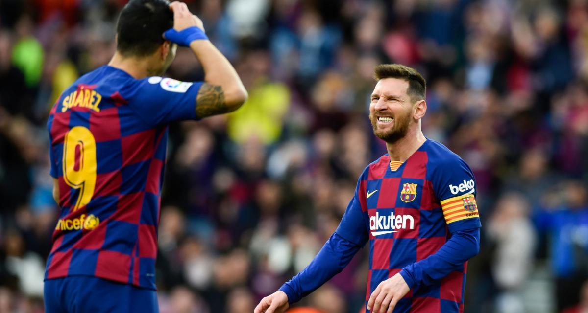 FC Barcelone - Mercato : Luis Suarez prêt à prolonger le plaisir avec Lionel Messi ?