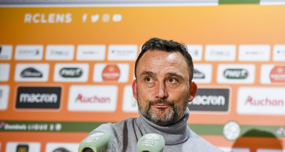 RC Lens: les moyens du Mercato fixés, le coach Franck Haise menacé?