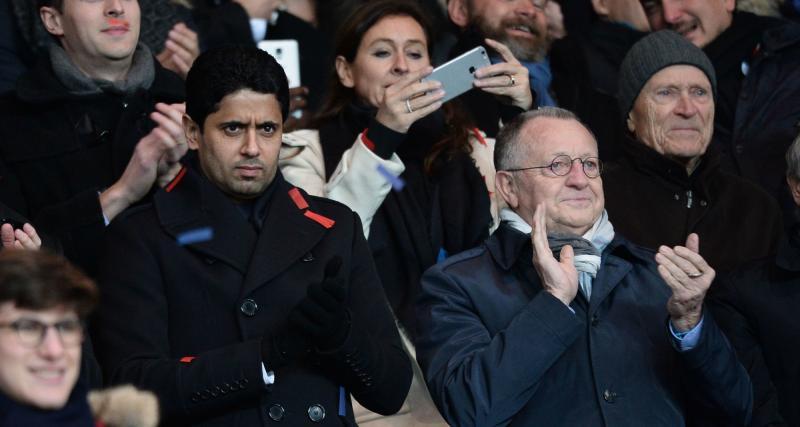 OL : Jean-Michel Aulas a trouvé un nouveau moyen d'asticoter le PSG et Nasser al-Khelaïfi