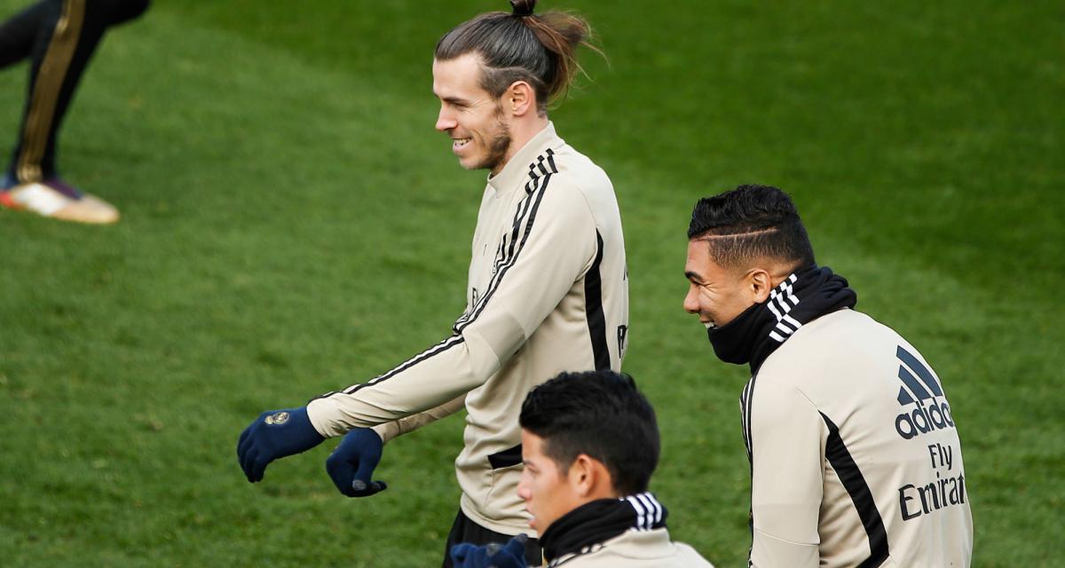 Real Madrid – Mercato: James Rodriguez s'est fait une raison... mais pas Gareth Bale