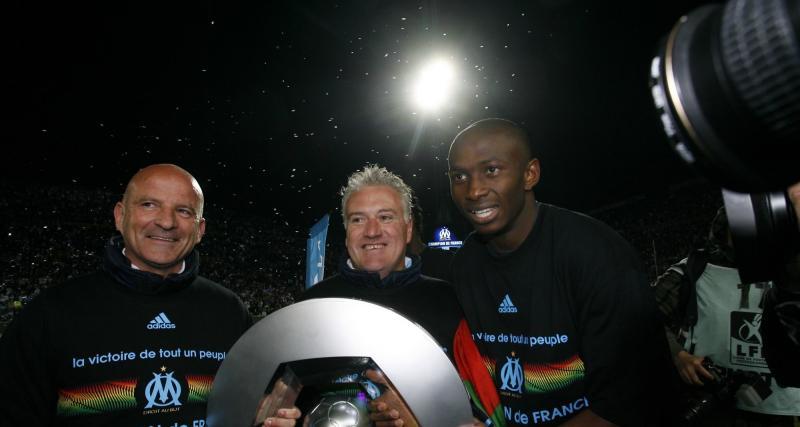 OM : Mbia souligne le rôle de Deschamps dans le titre de 2010