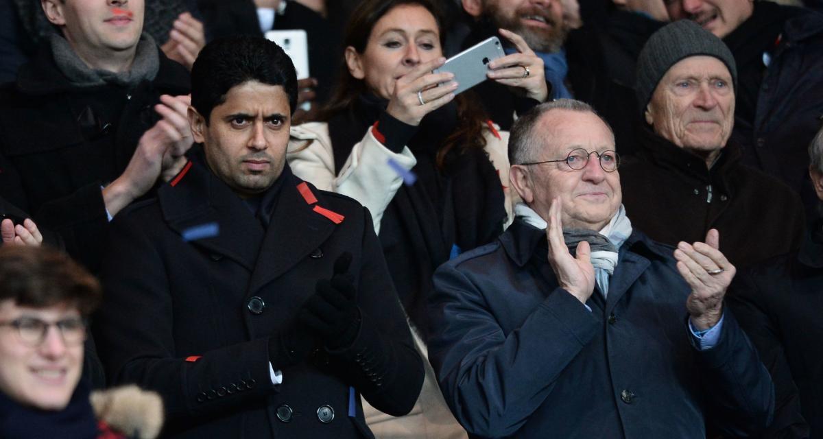 Ligue 1, Ligue 2 : la saison blanche d'Aulas désormais envisagée ?