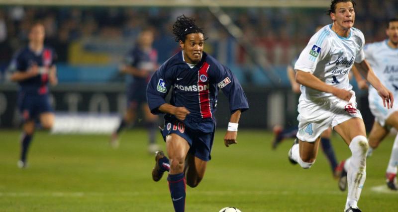 PSG : l'anecdote hallucinante sur Ronaldinho avant son récital dans le Clasico de 2003
