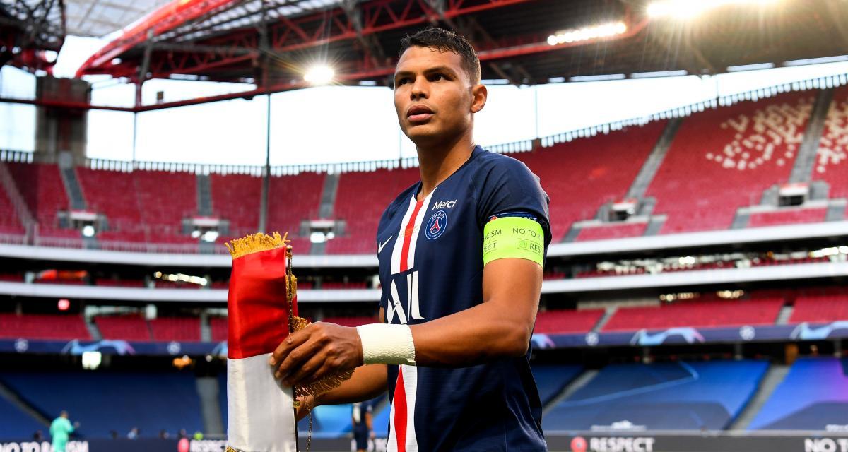 PSG : les adieux émouvants de Thiago Silva