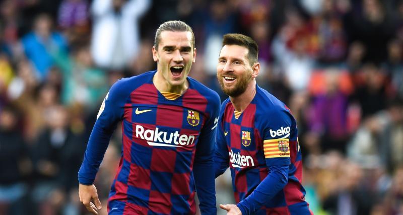 FC Barcelone : Griezmann, grand gagnant du départ de Messi ?