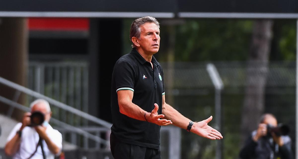 ASSE : Claude Puel contraint de prendre une décision sans risque avant Lorient