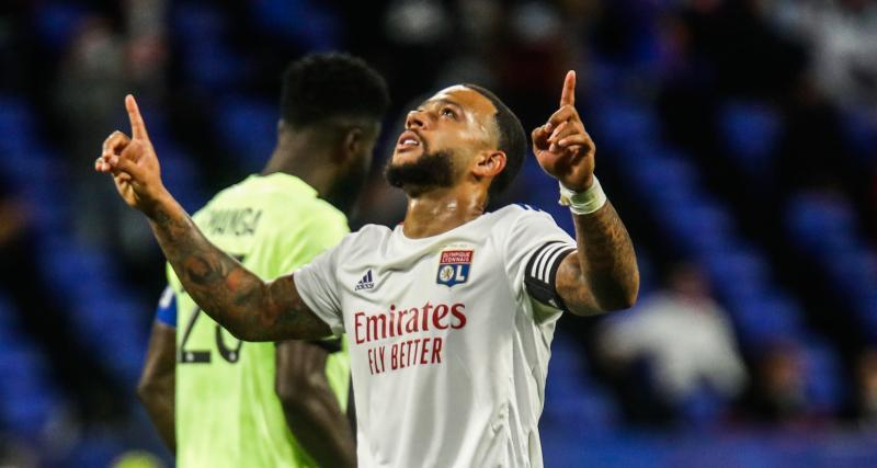 OL – Dijon (4-1) : Depay savoure son triplé mais reste très flou sur son avenir lyonnais