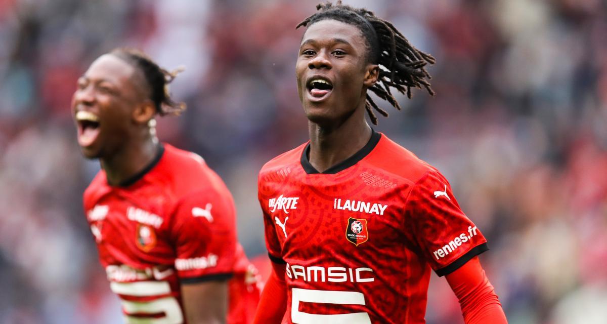 Stade Rennais : la boulette de Pierre Ménès sur Eduardo Camavinga