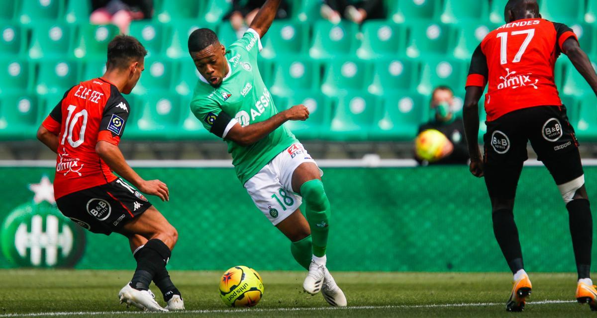 Résultats Ligue 1 : l'ASSE assure, le FC Nantes a serré les dents