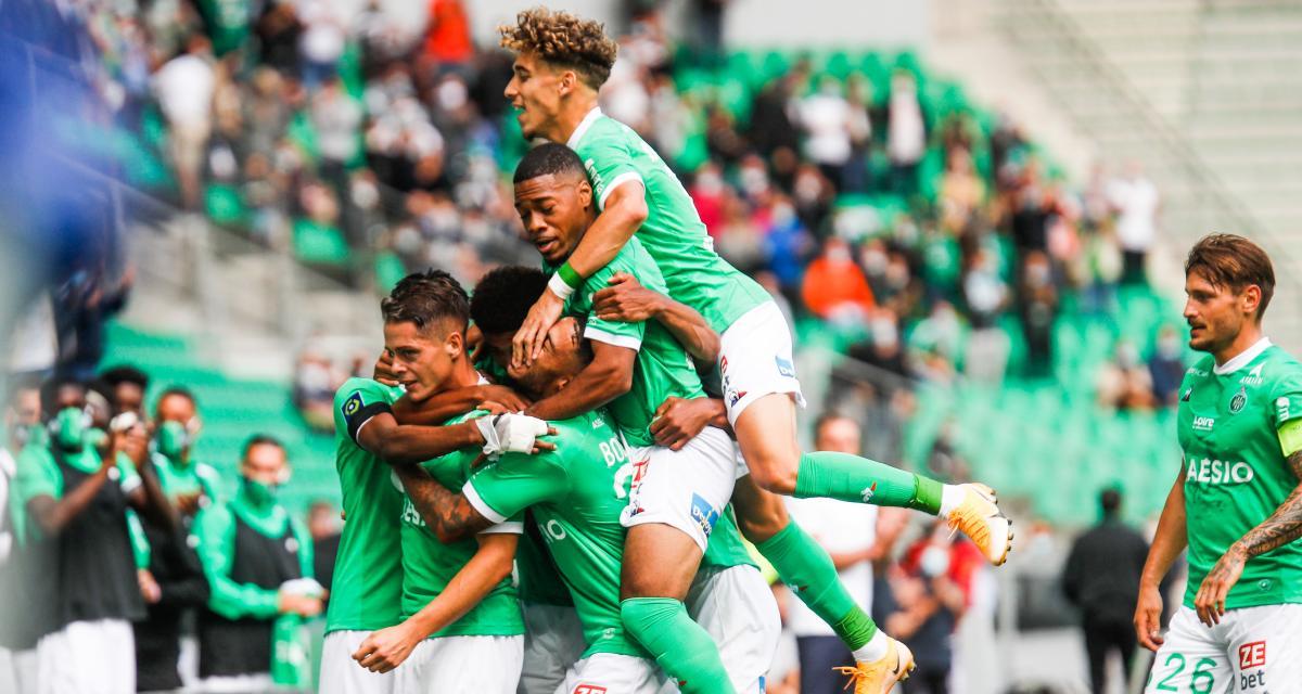 ASSE-Lorient (2-0) : Les notes du match pour les Verts