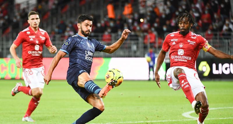 Résultat Ligue 1 : l'OM a pris les devants à Brest (2-1, mi-temps)