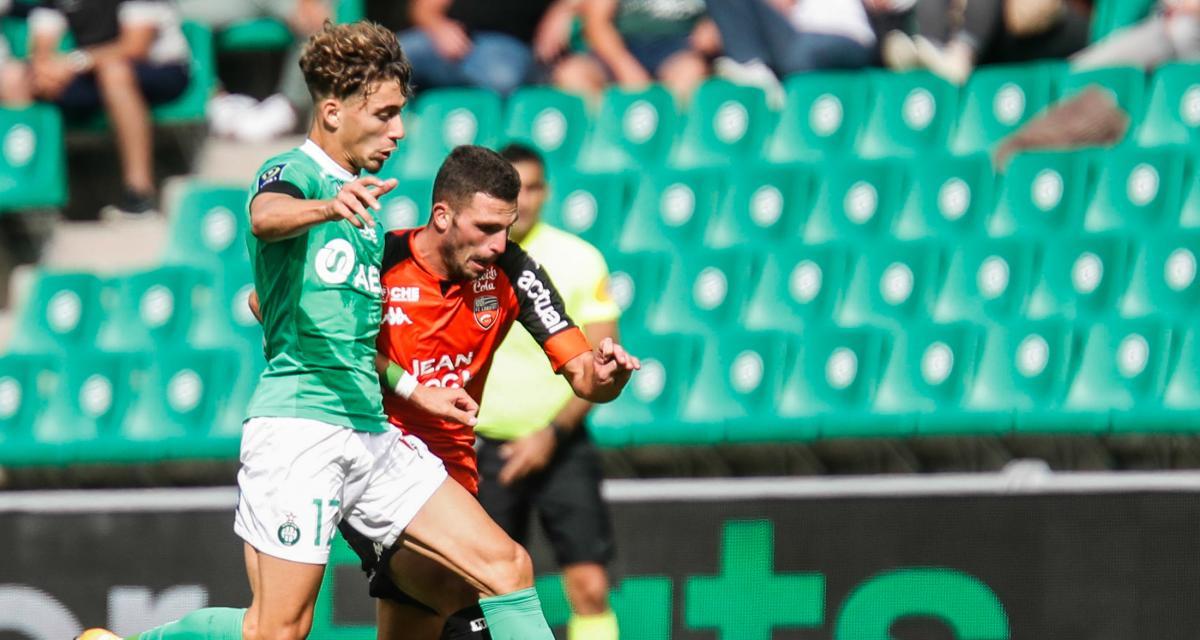 ASSE – Lorient (2-0) : Aouchiche, sa grande première à la loupe