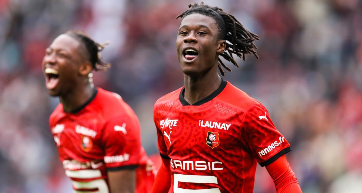 Stade Rennais, Girondins : Camavinga fait pâlir une légende bordelaise
