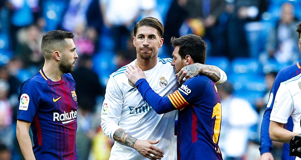 FC Barcelone : Lionel Messi reçoit l'hommage ultime de Sergio Ramos (Real Madrid)