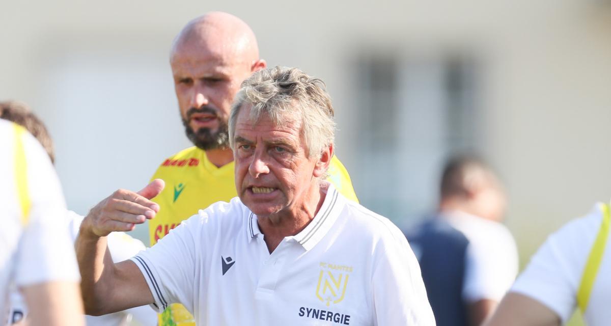 """FC Nantes : Gourcuff siffle """"la fin de la récré"""" avec Ziani"""