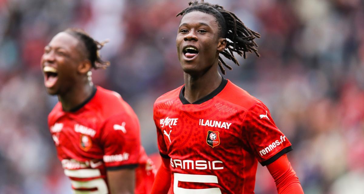 Stade Rennais : un record cher au RC Lens résiste à Camavinga