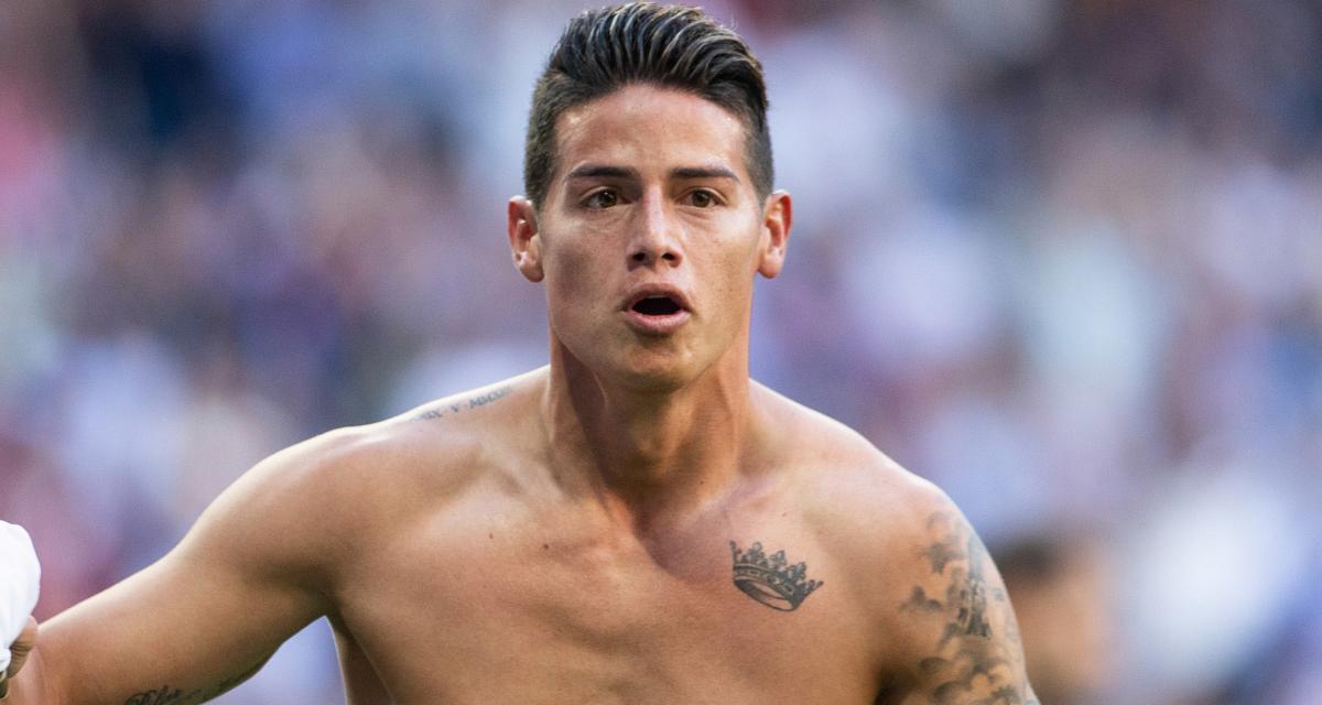 Real Madrid – Mercato : James Rodriguez rejoint Everton (officiel)
