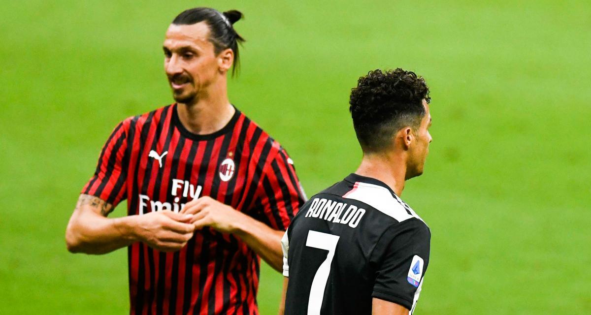 Juventus : pourquoi Zlatan Ibrahimovic ne supporte pas Cristiano Ronaldo