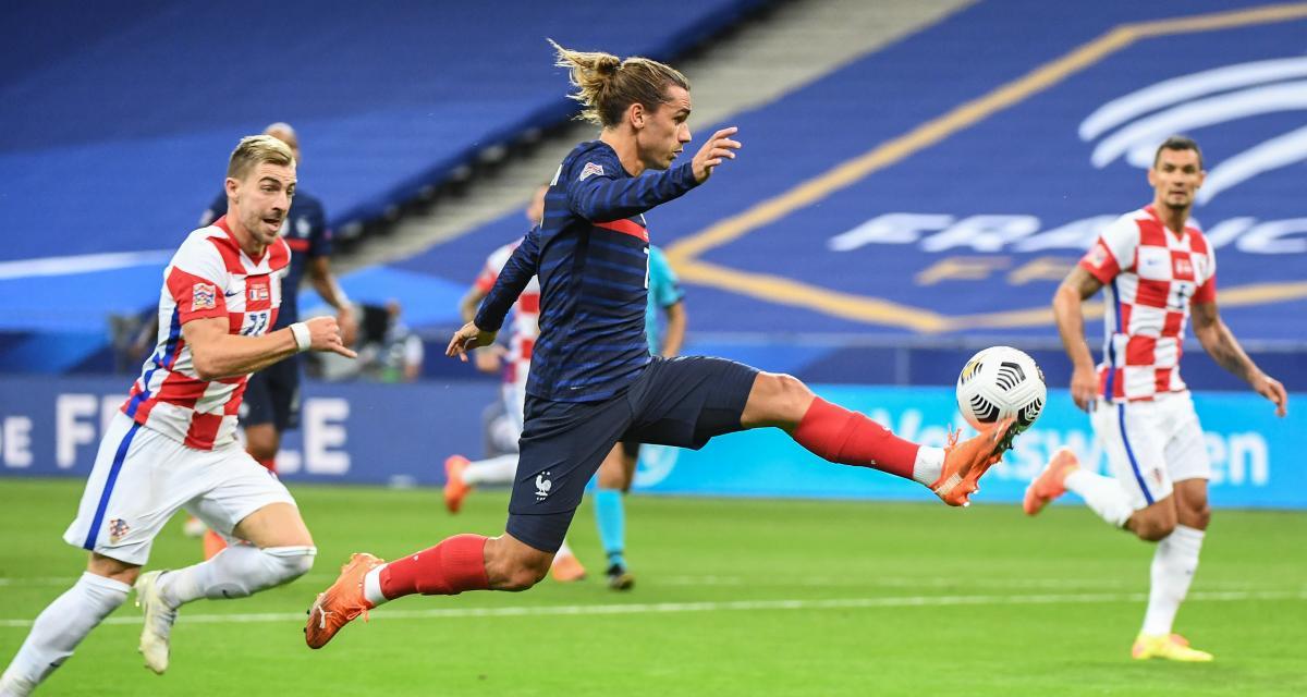 Résultat Ligue des Nations : France 2-1 Croatie (mi-temps)