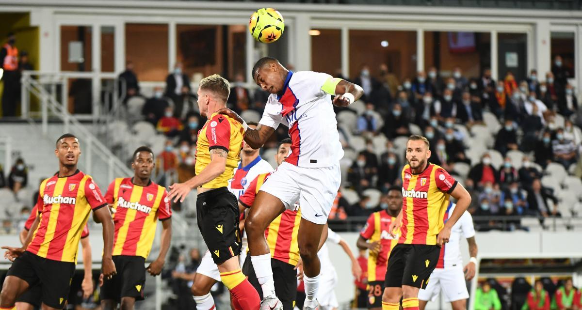 Résultat Ligue 1: le RC Lens tient tête au PSG (0-0, mi-temps)