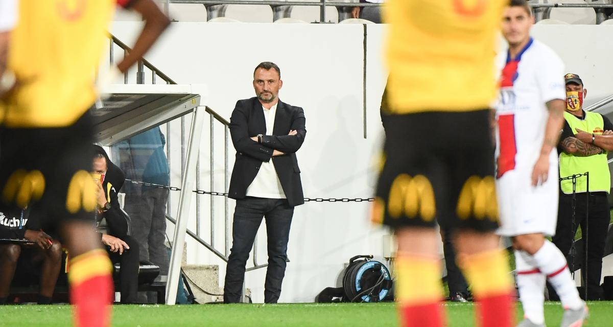 RC Lens – PSG (1-0): le clin d'oeil de Franck Haise au peuple Sang et Or