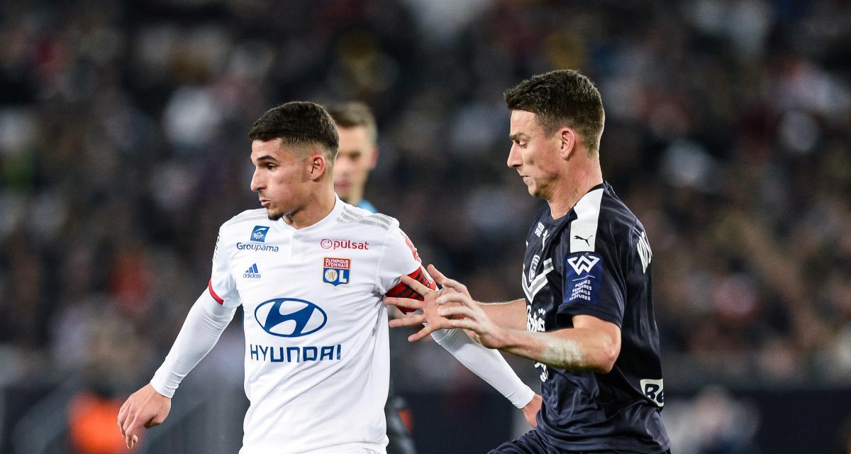 Ligue 1 : Girondins – OL, les compositions d'équipe (Aouar sur le banc)