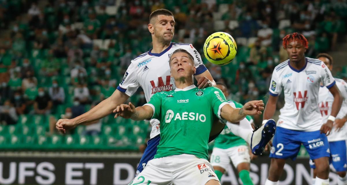 ASSE - RC Strasbourg (2-0) : 3 tops et 3 flops de Verts leaders de la L1