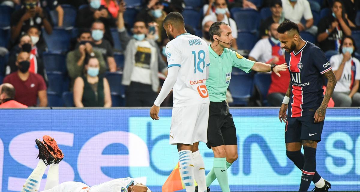 PSG – OM (0-1) : Les images de Téléfoot ne valident pas les accusations de Neymar