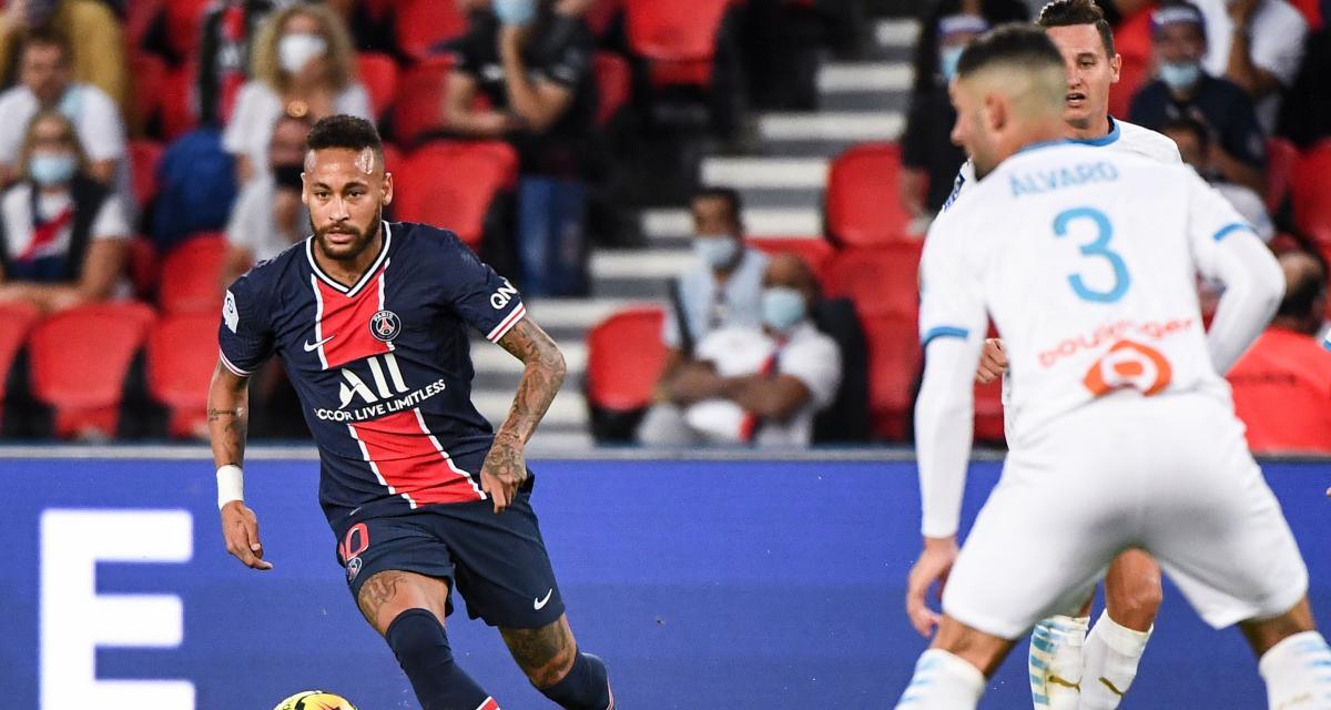PSG – OM (0-1) : Alvaro s'inscrit en faux, Neymar appelle à la paix