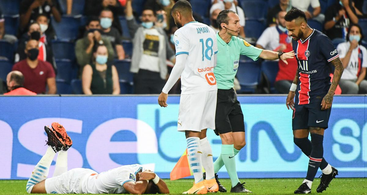 OM : Rongier fracasse Neymar (PSG) après le Clasico