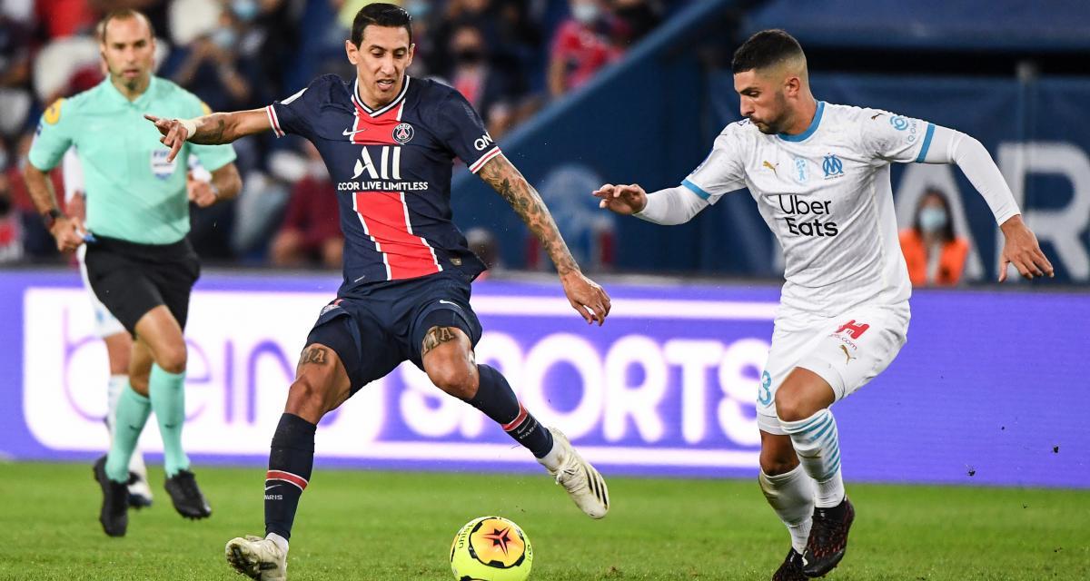 PSG - OM (0-1) : Di Maria a bien craché vers Alvaro, il pourrait prendre cher