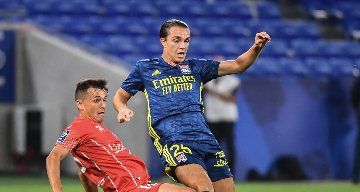 Résultat Ligue 1 : l'OL n'a pas la tâche facile contre Nîmes (0-0, mi-temps)