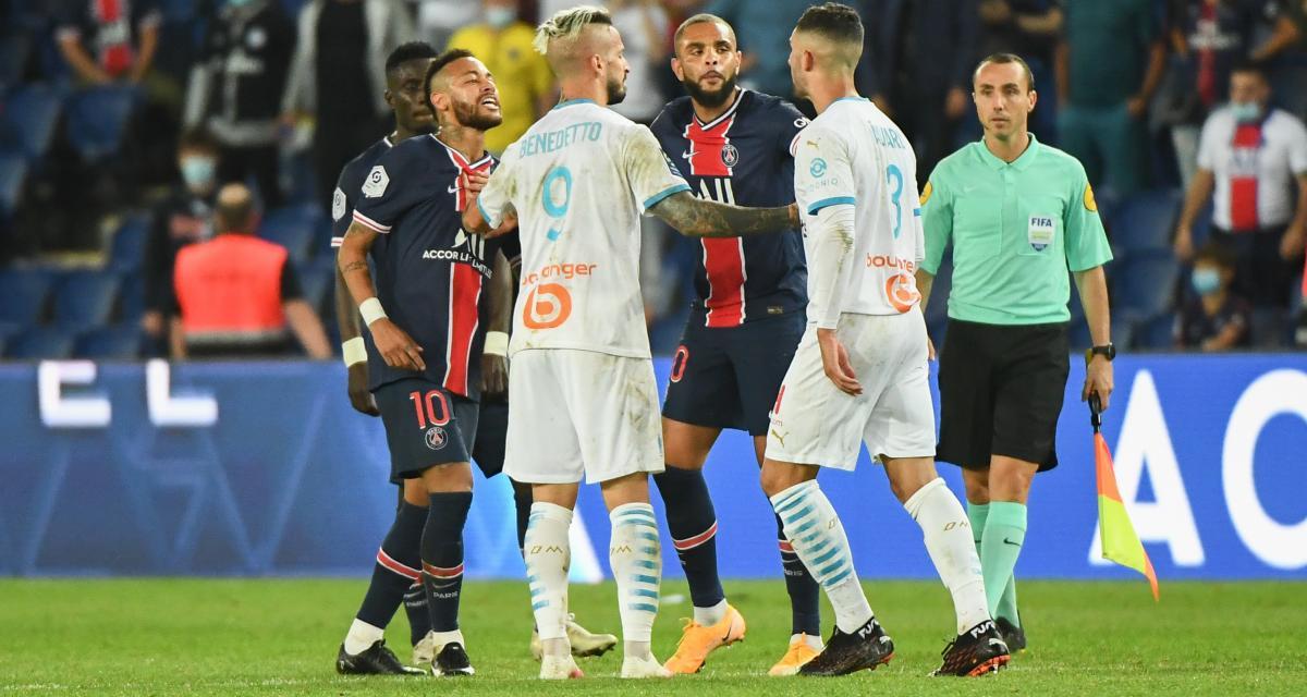 PSG - OM (0-1) : les vraies images des insultes de Gonzalez à Neymar pas encore diffusées !
