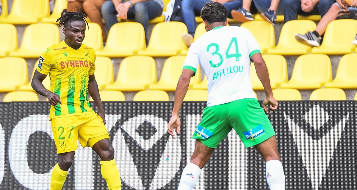 FC Nantes - ASSE (2-2) : la confidence troublante de Moses Simon