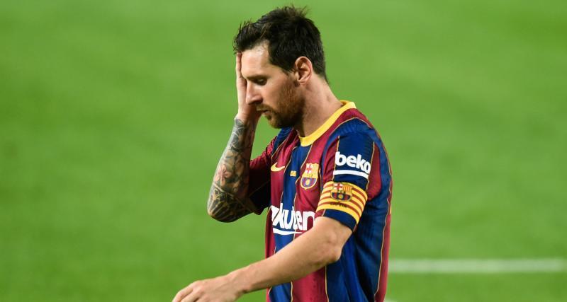 FC Barcelone : Messi pourrait péter les plombs en pleine saison