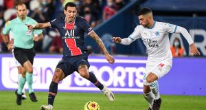PSG - OM (0-1) : Di Maria crache sur sa sanction et a tenté le coup Messi !