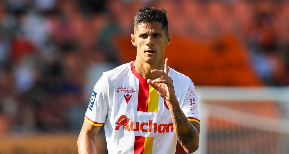 RC Lens – Mercato: Florian Sotoca blinde son avenir chez les Sang et Or