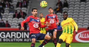 Résultat Ligue 1 : LOSC 1 - 0 FC Nantes (mi-temps)