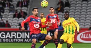 Résultat Ligue 1 : le LOSC dompte le FC Nantes (2-0) et prend la tête de la L1
