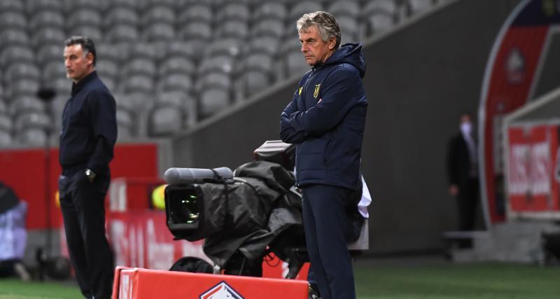 LOSC - FC Nantes (2-0) : scotché par les Canaris, Galtier déplore un énorme manque de respect !