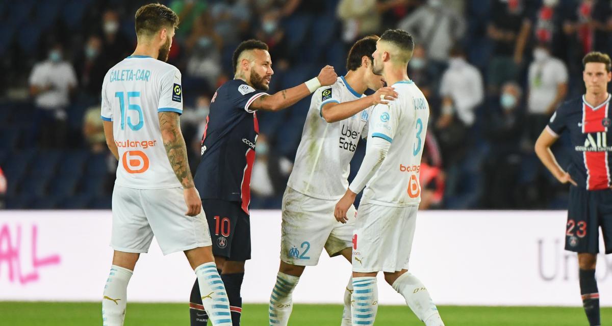 PSG - OM (0-1) : un antécédent au Brésil et de nouvelles images sur Sakai, Neymar craint le pire
