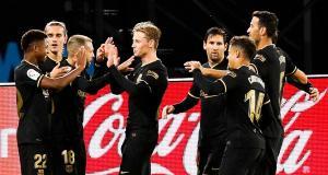 Résultat Liga : Celta Vigo 0-3 FC Barcelone (terminé)