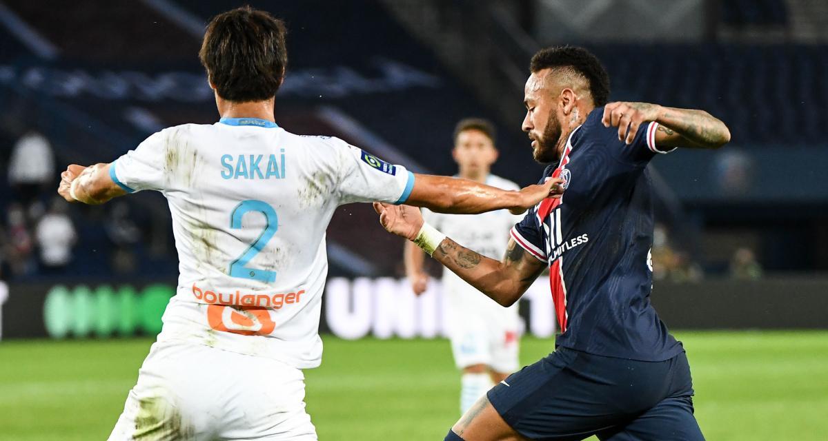 PSG - OM (0-1) : Sakai fait une fleur à Neymar