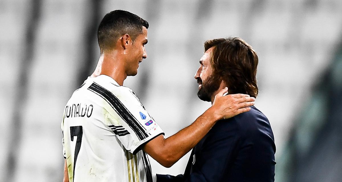 Juventus : Andrea Pirlo supplie déjà Cristiano Ronaldo