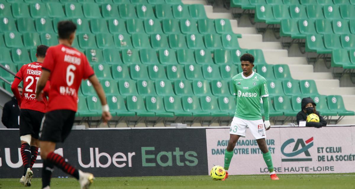 ASSE, Leicester : tristes débuts pour Wesley Fofana