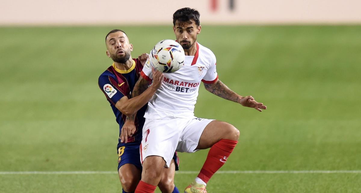 Résultat Liga : le FC Barcelone cale à domicile face au FC Séville (1-1)
