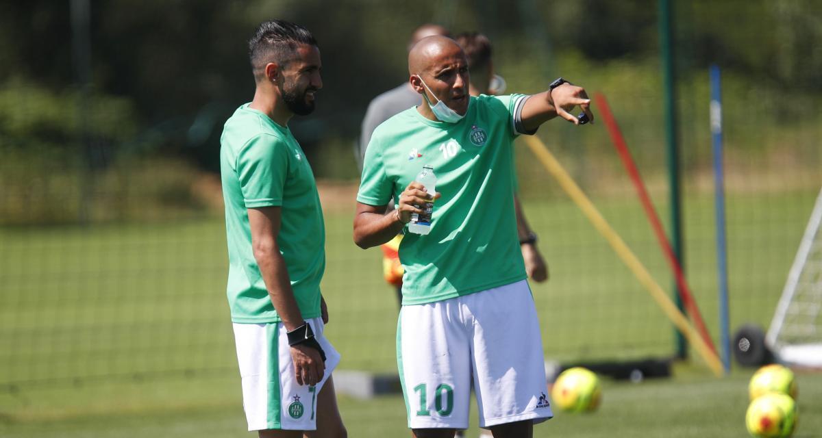 ASSE – Mercato : Les réintégrations de Khazri et Boudebouz font toujours débat chez les Verts