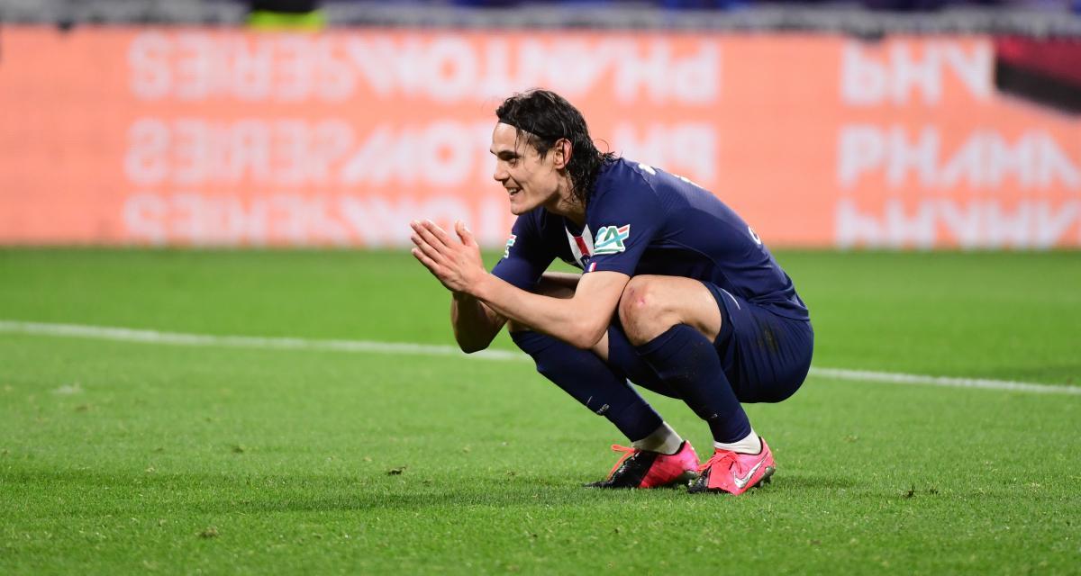 PSG - Mercato : un joueur parisien a poussé Cavani dans les bras de Manchester United